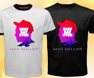 EZ MAC MILLER Best Day Ever Incredibly Dope Tour Hip Hop Logo Symbol T