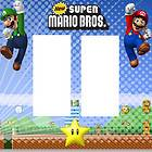 Super Mario Bros Double Rocker Light Cover Kids Room Decor