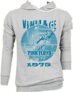 Pink Floyd The Tea Set wish you were here Vintage Grays HOODIE JUMPER