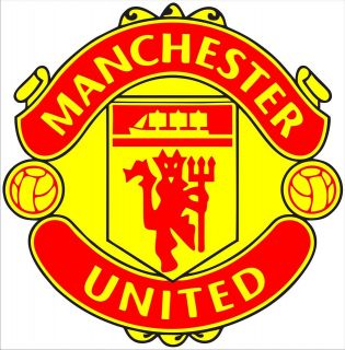 Manchester United Footbal Logo Emblem Berbatov Wall art Stickers Decal