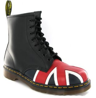Dr.Martens Union Jack 8417z Black Womens Boots