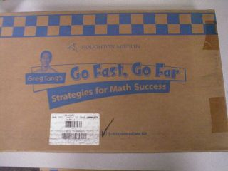 Greg Tangs Go Fast Complete Kit Intermediate Grades 3 6 by Math
