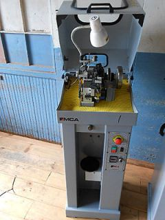 MCA Single Curb Chain Making Machine, Model RP006, S/N 135