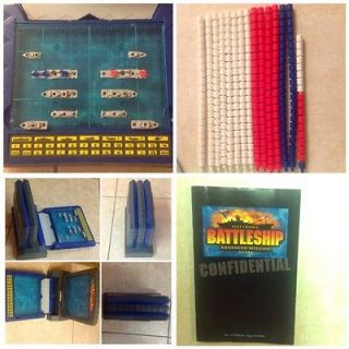 ELECTRONIC TALKING BATTLESHIP Advanced Mission Milton Bradley Game