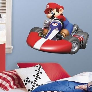 mario kart wall stickers in Kids & Teens at Home
