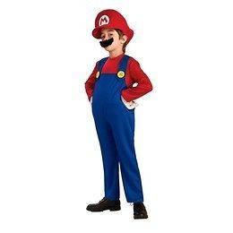 Boys Large Super Mario Costume