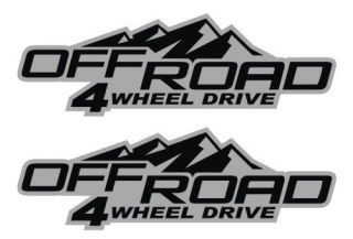 Off Road 4wd Vinyl Decals / Stickers 4x4 GMC Canyon Chevy Colorado