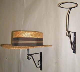 Decorative mnt Wall Hat Rack display general store US