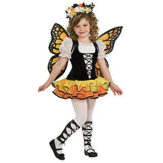 Monarch Butterfly Halloween Costume   Child Size Large 12 14