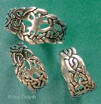 Silver Celtic Tree of Life Ring by Jen Delyth Sizes 6 12 Great