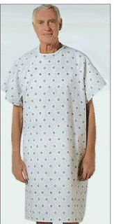 NEW HOSPITAL PATIENT GOWN MEDICAL EXAM GOWNS ECONOMY