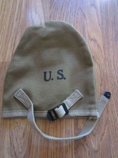 WWII US M1910 INFANTRY AIRBORNE T HANDLE SHOVEL CARRY COVER OD#3