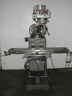 Ram Type Vertical Turret Milling Machine Built 1985 (Bridgeport type