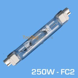 250 Watts Metal Halide Bulb HQI 20000 K 20K Coral Reef Blue 250W FC2