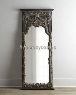Large 68 BAROQUE FLOOR Leaner Mirror FULL LENGTH Wall Antique Vine
