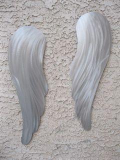 Wall Art Modern Metal Sculpture angel wings metal art holly lentz