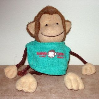 BANANA A JOLLY 18.5 Chippy Monkey Plush Stuffed Animal Cute VINTAGE