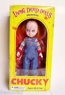 Bride of Chucky Doll Mezco Toys Officially Licensed Exclusive 10.5
