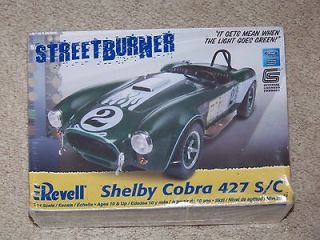 New Shelby Cobra 427 S/C Streetburner Model Kit 1:24 scale