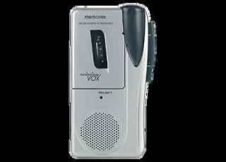 Memorex MB2186A Micro Cassette Player Voice Recorder VOX Voice