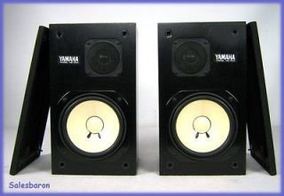 Pair of Yamaha Speakers Model NS 10 M Studio Monitors with GRILLS