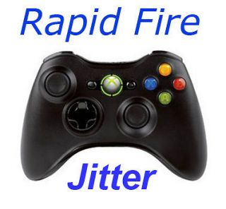 MW3 Xbox 360 Rapid Fire Modded Controller JITTER 5 Mode with