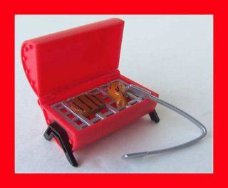 LIV DOLL HOUSE DOLLHOUSE FURNITURE ACCESSORY TABLE TOP BBQ GRILL TONG
