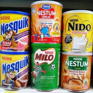 NESTLE LATINO POWDERED MILK DRINK MIX OR CEREAL MIX ~ 7 FLAVOR CHOICES