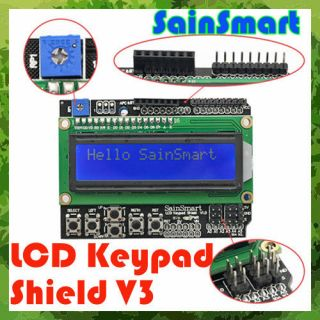 SainSmart Keypad Shield 1602 LCD Module Display 4 Arduino MEGA 2560