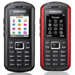 New Samsung GT B2100 XPLORER WATERPROOF Unlocked Cell Phone Red