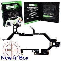 INTENSAFIRE RAPID FIRE MOD KIT for XBOX 360 CONTROLLER NEW