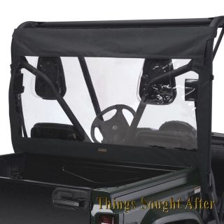 for YAMAHA RHINO 700 Sport Utility Vehicle UTV Windshield   Black