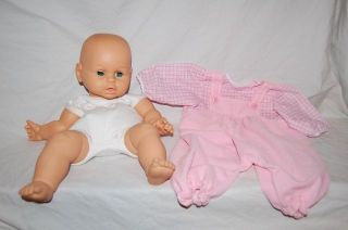 Vintage 9 Lauer Toys Water Babies Doll Red Polka Dot Dress