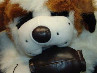 BIG SWISS MOUNTAIN DOG ST. SAINT BERNARD RESCUE PLUSH STUFFED ANIMAL