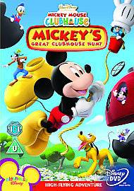 Mickey Mouse Clubhouse   Mickeys Great Clubhouse Hunt DVD NEW