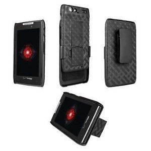 Shell Cover Case Kick Stand Cover Verizon Motorola Droid RAZR MAXX New