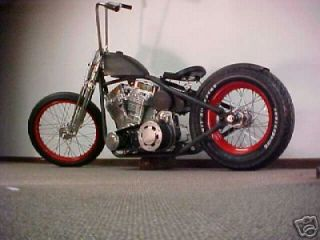 Custom Built Motorcycles : Bobber Hot Rod Bobber Chassis
