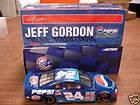 JEFF GORDON NASCAR PEPSI COLA MACHINE FRONT