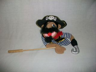 13 Muppets? Pirate Skull & Cross Bones Hat Hook PUPPET Stuffed Animal