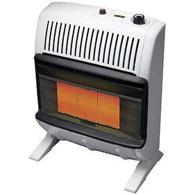 Mr Heater HeatStar 20K BTU Natural Gas Vent Free Radiant Heater