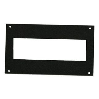 Dash Plate For Mounting Single Din Stereo Radio Mount ABS   Black
