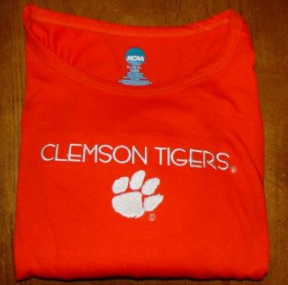 NCAA Clemson Tigers long sleeved T Shirt XL NWT