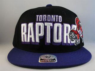 Hat Toronto Raptors Snapback Cap NBA XL Logo Basketball Adjustable