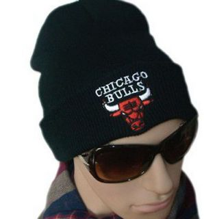 Hip Hop Supreme CHICAGO BULLS Beanie Cotton Stay warm outdoor knit cap