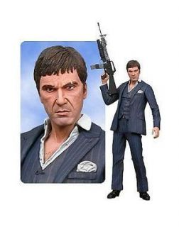 NECA SCARFACE 18 TALKING ACTION FIGURE TONY MONTANA BY AL PACINO