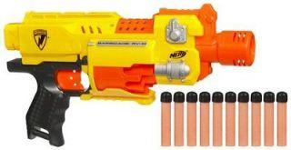 Nerf N Strike Barricade RV 10 Motorized Semi Auto Blaster 10 Dart