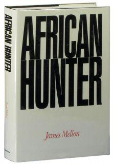 African Hunter by James Mellon big game hunting book black rhinoceros