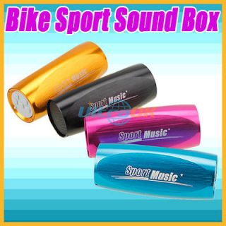 Mini Sport Bicycle Bike FM Radio TF  Player Music Sound box speaker