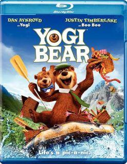 Yogi Bear Blu ray DVD, 2011, 2 Disc Set