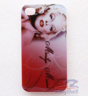 New MARILYN MONROE APPLE iPhone 4 4S 4G Cell Phone Case Cover FREE